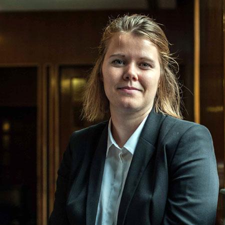 Rebecka Andreasson. Photo.