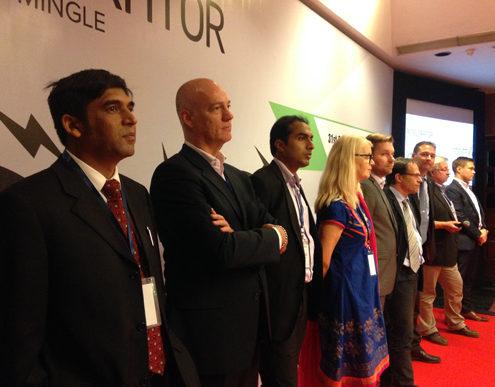 Nine participants. Photo.