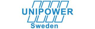 Unipower's logotype.