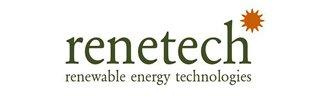 Renetech's logotype.